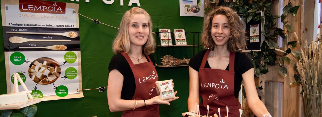 Lempoïa, projet en innovation alimentaire, primé à EcoTrophelia 2018