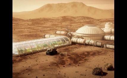 """Les élèves 1A de l'ENSC, conduits par le professeur Jean-Marc Salotti, ont candidaté au concours de la Mars Society :""""Mars Colony Prize Competition"""". Ils sont demi-finaliste"""