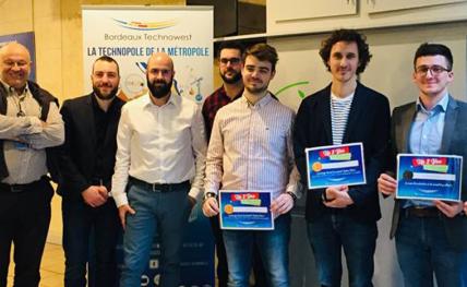 VZB remporte la première place du concours Up 2 you de Bordeaux Technowest